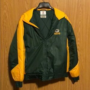 Hooded Winter Green Bay Packers Jacket